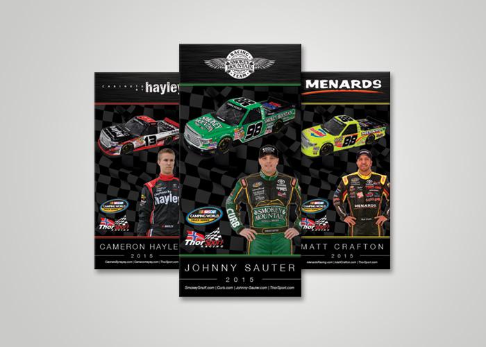 NASCAR Lanyard Card Design