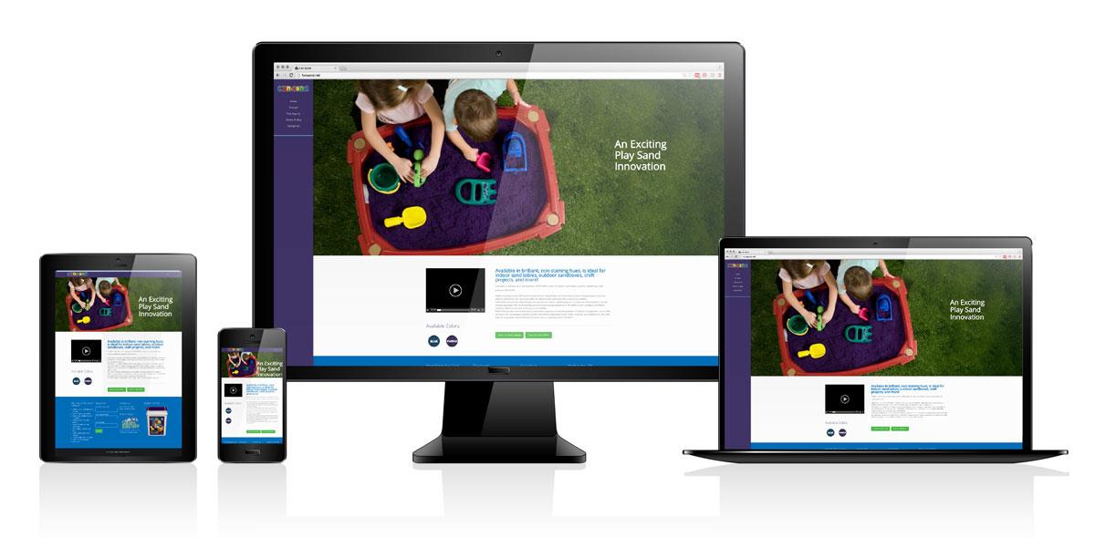 FunSand | Website Design