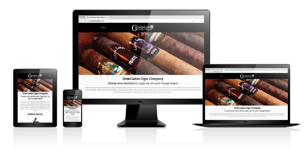 Great Lakes Cigar Co. | Website Design