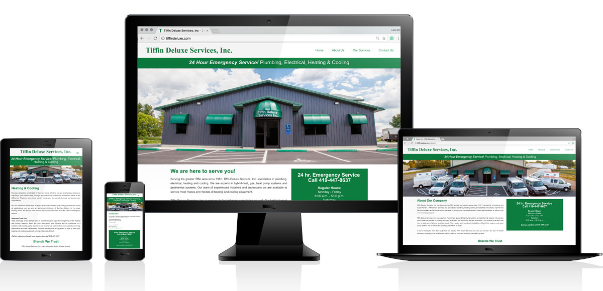 Tiffin Deluxe Services, Inc. | Website Design