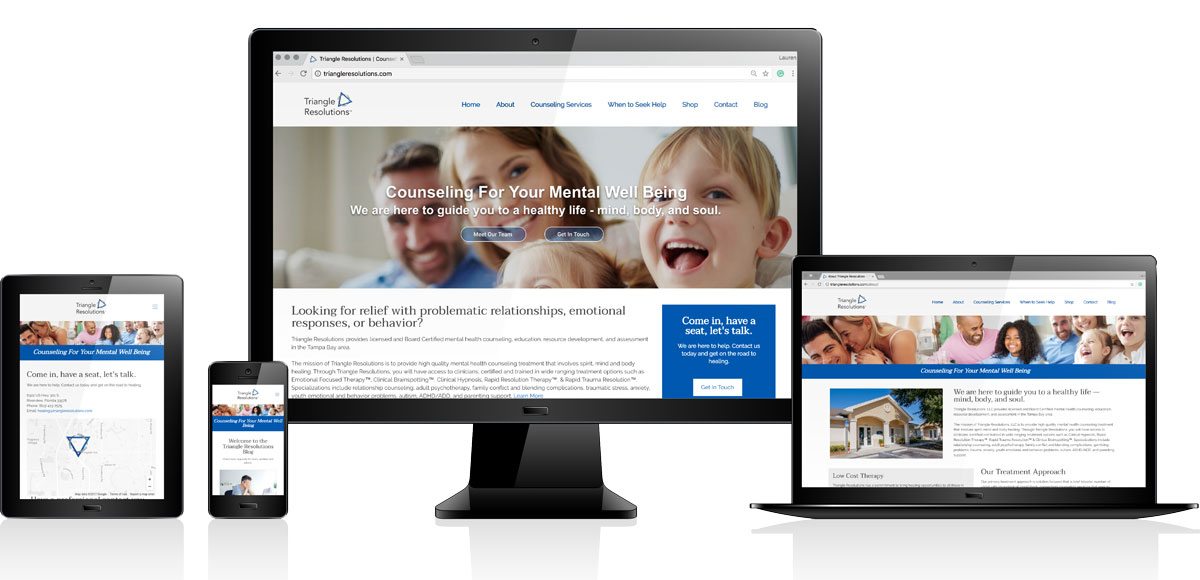 Triangle Resolutions, LLC | Website Design