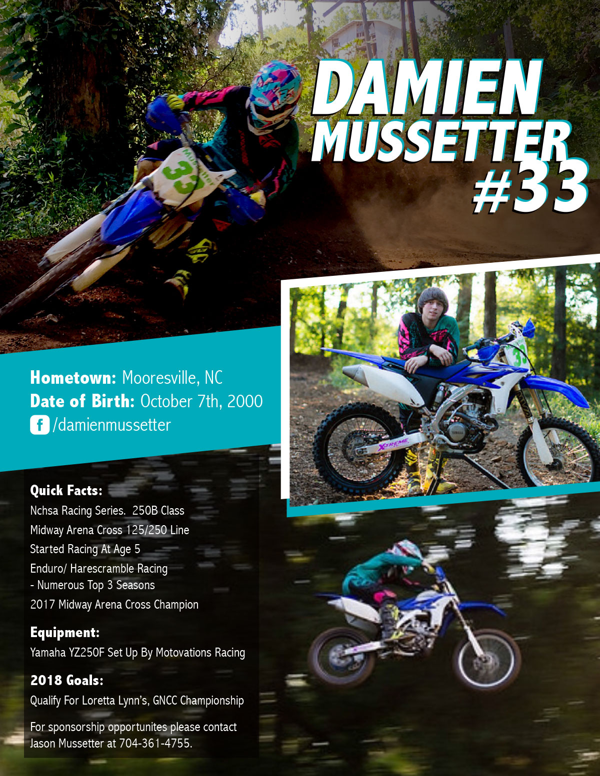 Damien Mussetter Athlete Hero Card