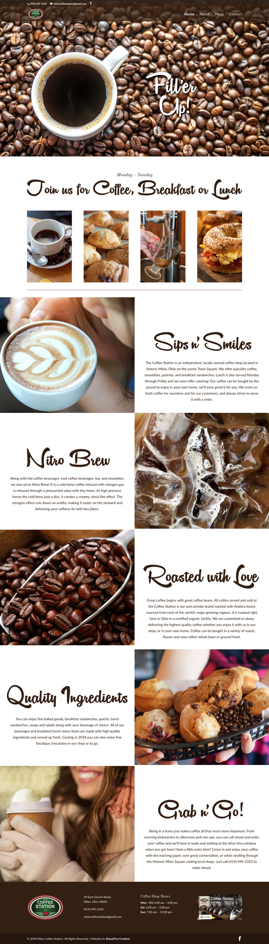 MilanOhioWebsiteDesign-CoffeeStation